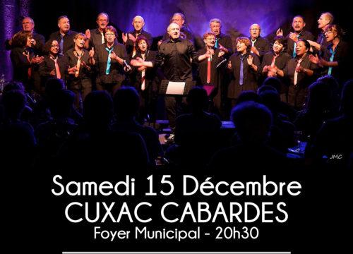Concert à CONILHAC CORBIERES le 16 décembre 2018