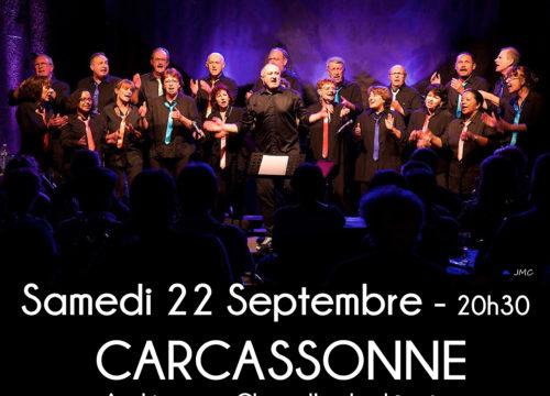 Concert à CARCASSONNE le 22 septembre 2018
