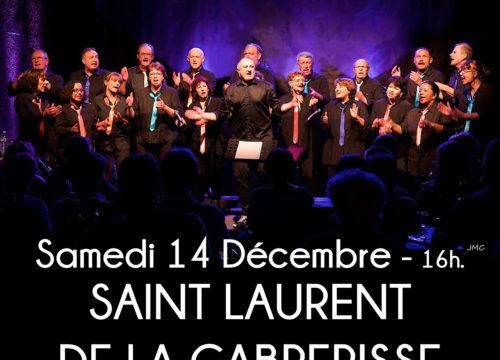 Concert à Saint Laurent de la Cabrerisse le 14 décembre 2019