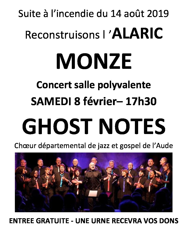 Concert à Monze – le 8 février 2020